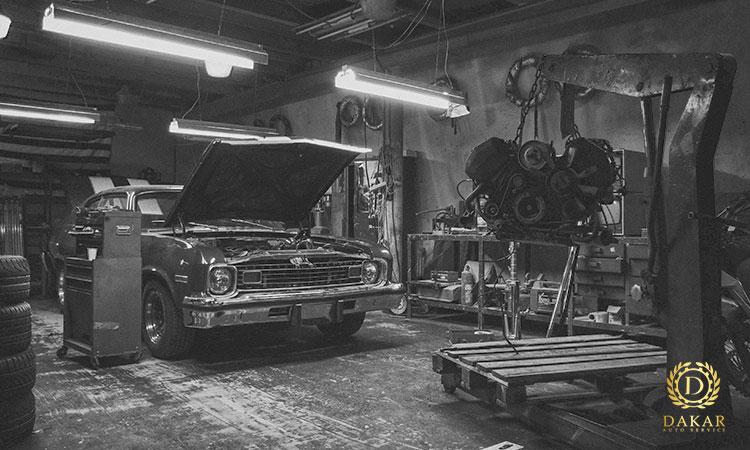 صافکاری خودروهای قدیمی