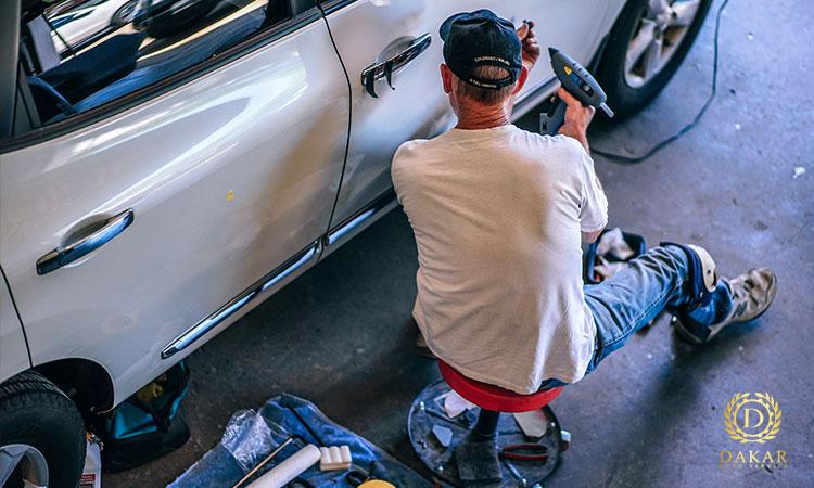 تعمیرگاه خودرو