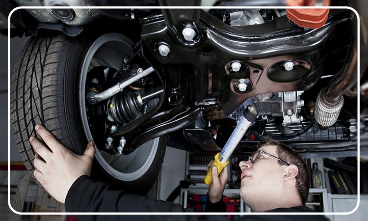 بررسی شاسی کشی و تعمیرات بدنه خودرو
