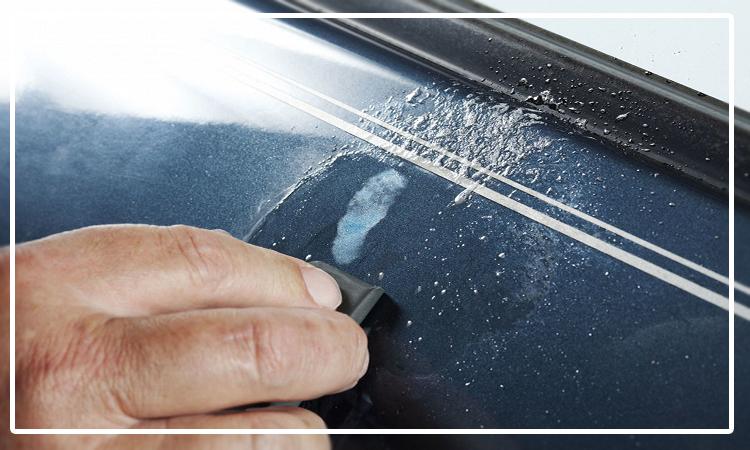 روش های پاک کردن خط و خش و لکه ی رنگ از روی بدنه خودرو