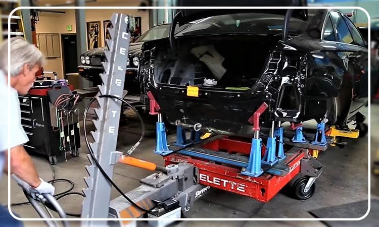 نحوه شاسی کشی و تعمیرات بدنه انواع خودرو