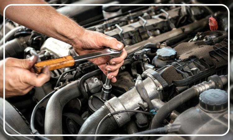 نحوه تعمیر موتور BMW
