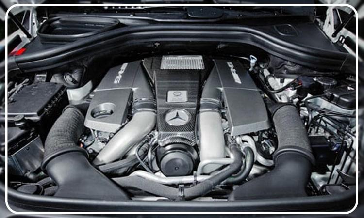 تعمیر موتور بنز