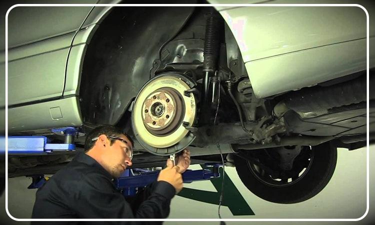تعمیر سیستم تعلیق و جلوبندی Benz